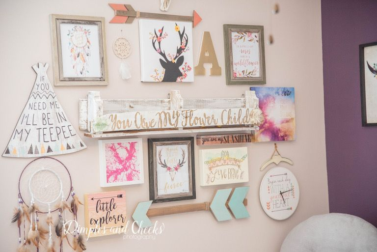7 Inspiring Kid Room Color Options For Your Little Ones: Wild And Free, Boho Nursery