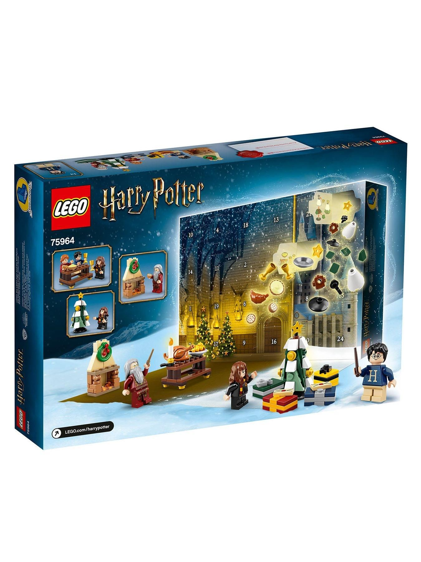 Lego Harry Potter 75964 Advent Calendar 2019 With Minifigures
