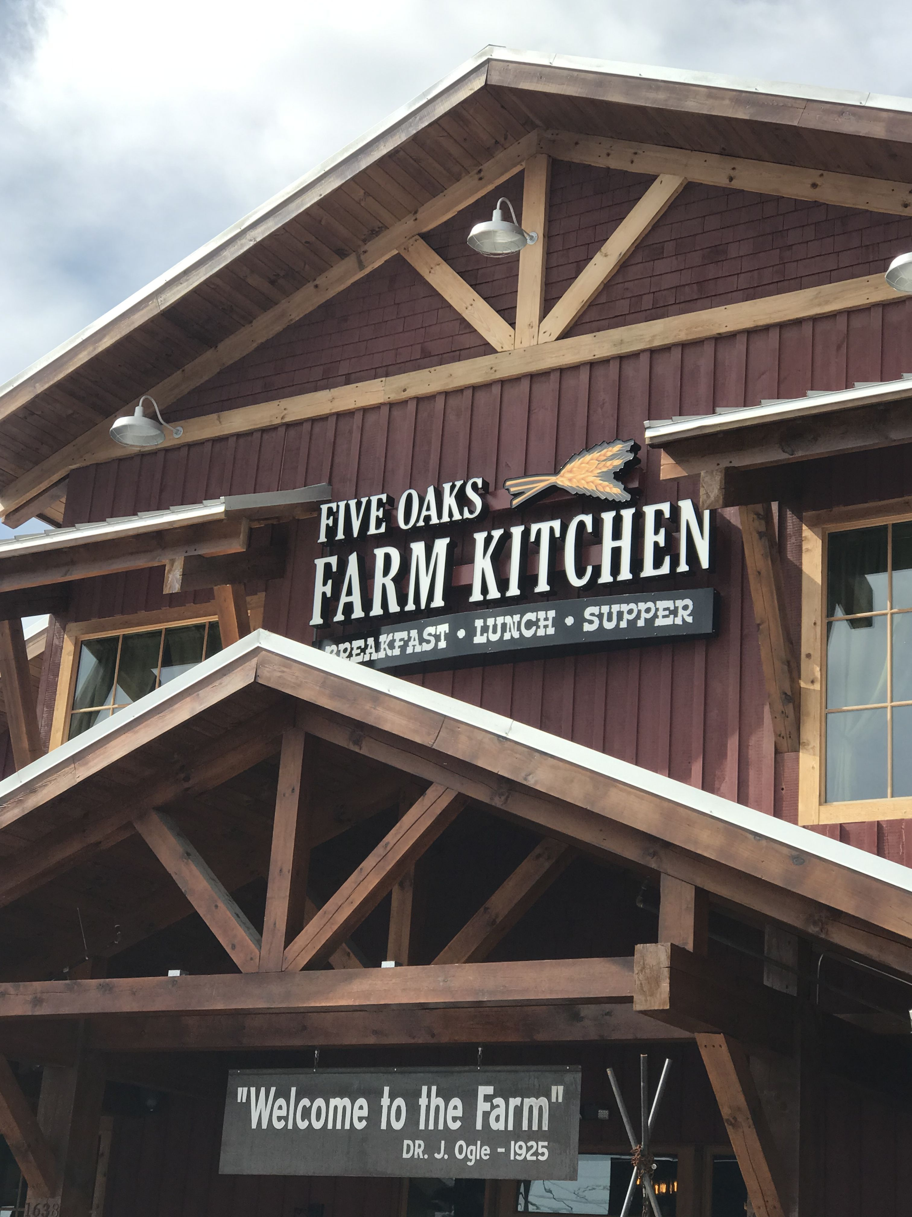 Five Oaks Farm Kitchen Sevierville Tn Farm Kitchen Smoky Mountains Places To Visit