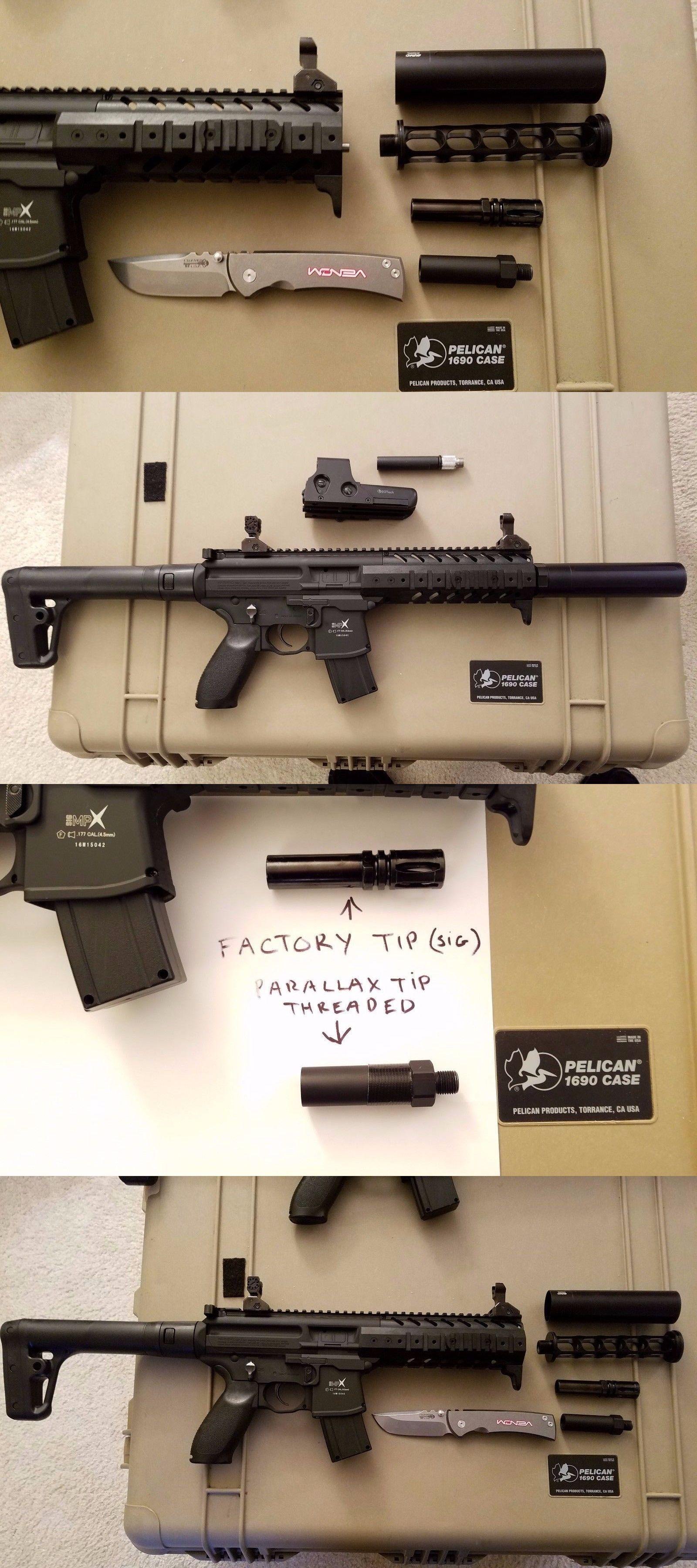 air rifles 178888 silencer air gun sound suppressor for sig sauer