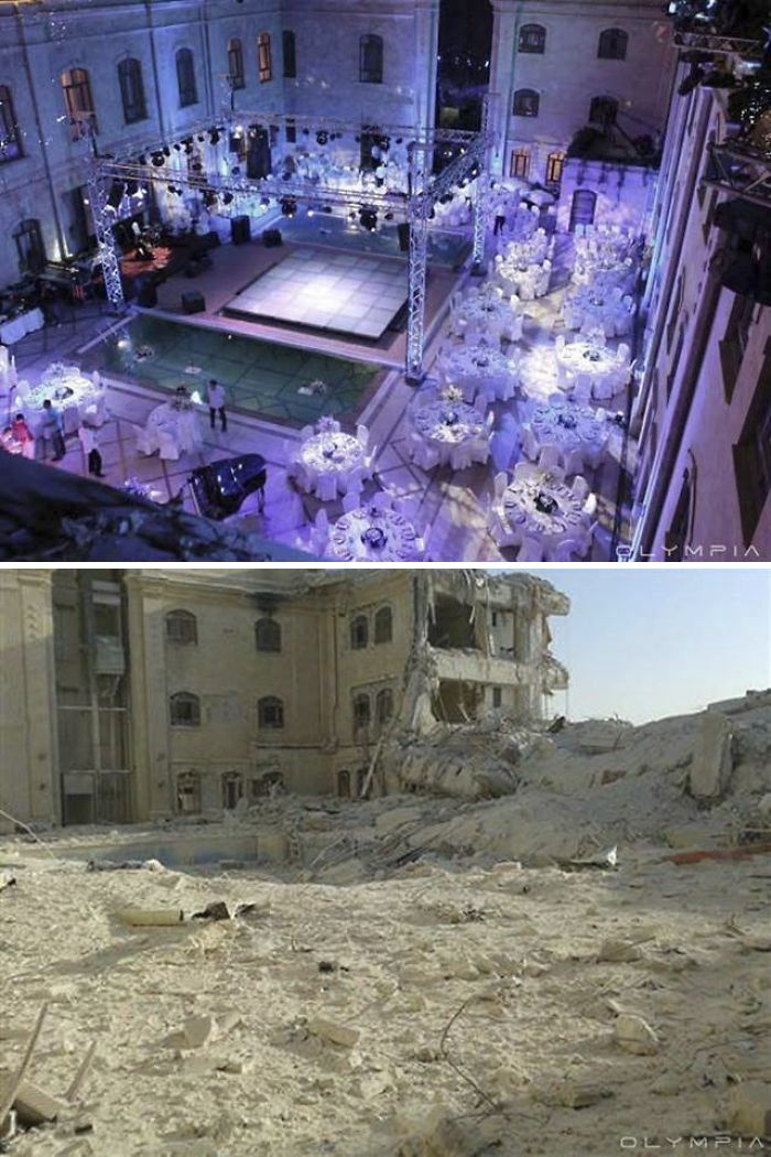 28 Before And After Pics Reveal What War Did To The Largest City