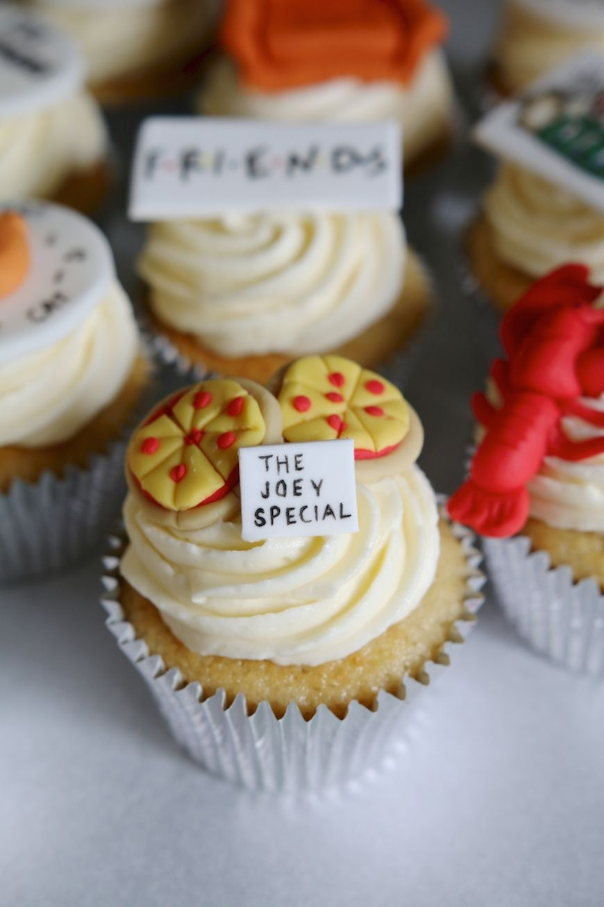 Friends Cupcakes - Afternoon Crumbs