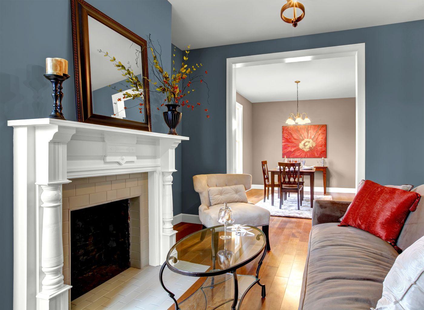 Glidden Connecticut Blue. Win. | Living room | Pinterest | Living ...