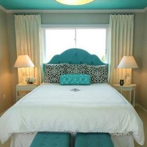 27+things you should know about turquoise and gold bedroom decor accent walls 116