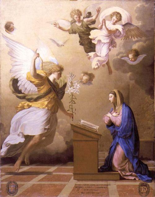 Annunciation - Eustace le Sueur