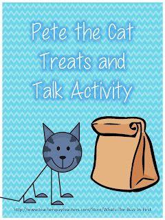 Classroom Freebies: Pete The Cat Freebie!