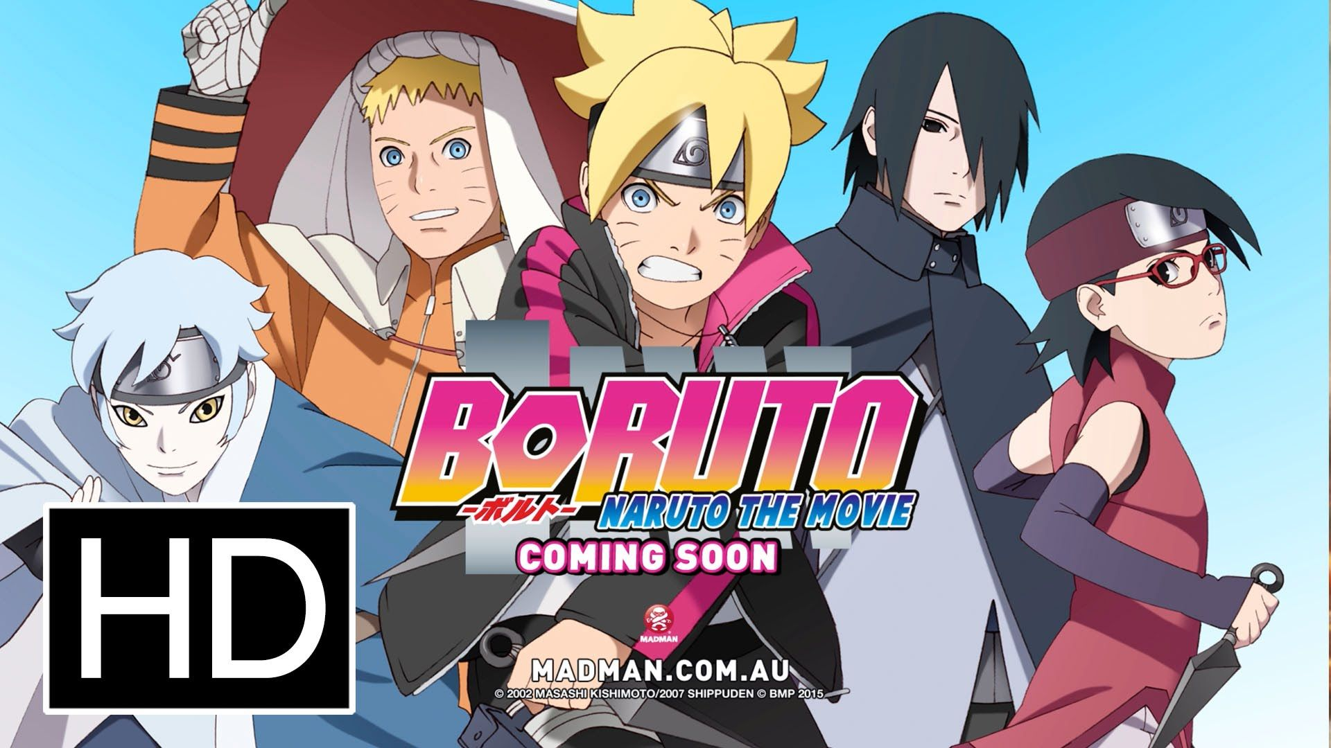 Boruto Naruto The Movie Official Full Trailer Anime