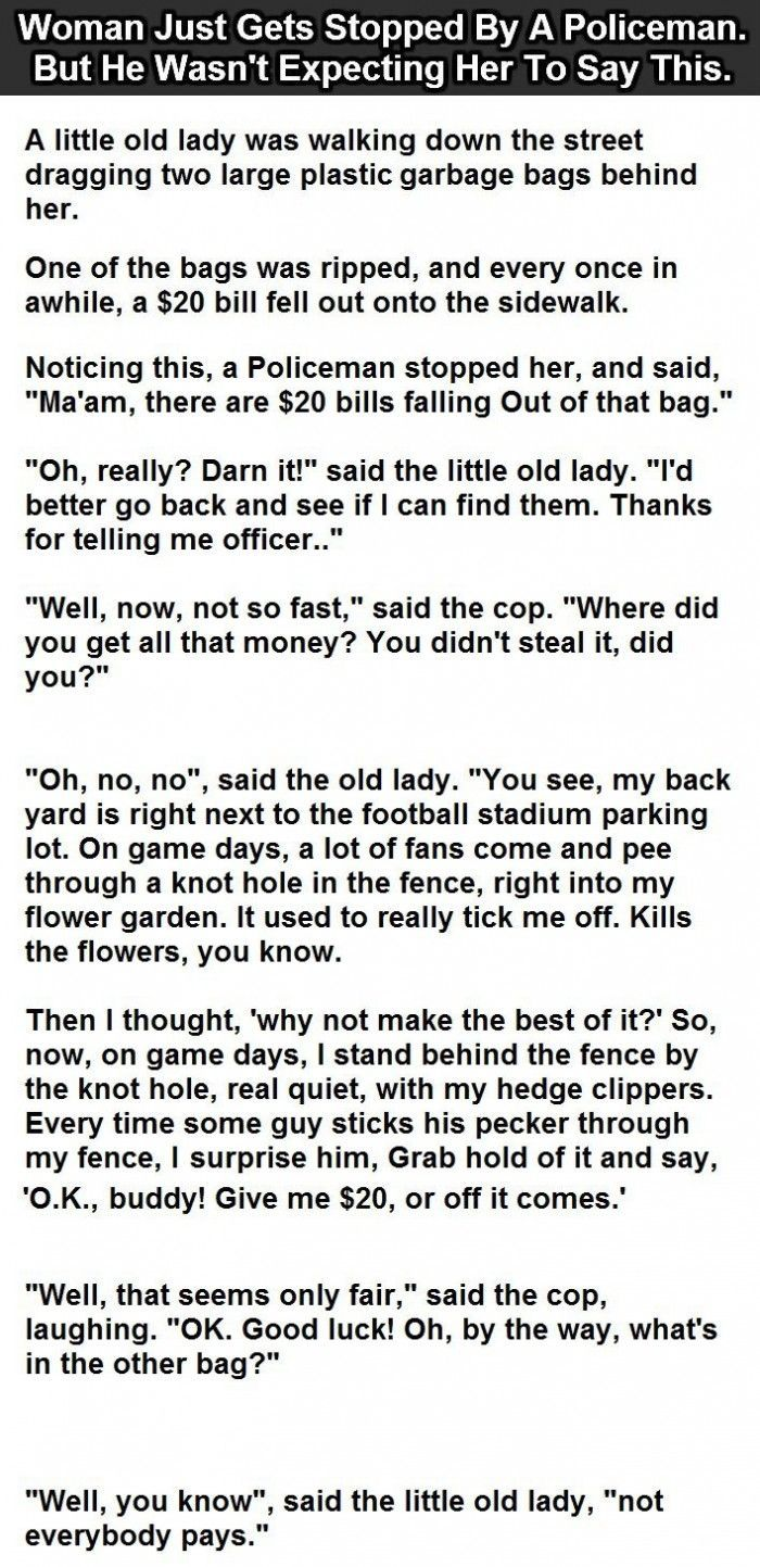 Latest Funny Stories funny stories Policeman Stops A Woman I… funny stories Policeman Stops A Woman I... 1