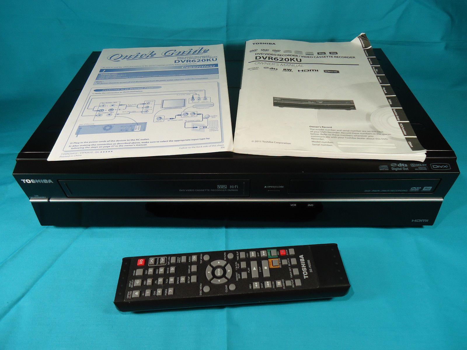 toshiba dvr620 dvd vhs recorder 2 way dubbing w remote manual rh pinterest co uk toshiba dvr620 manual download toshiba dvr620 manual pdf
