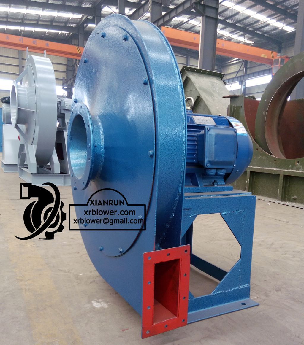 High Pressure Centrifugal Blowers : Xianrun blower high pressure centrifugal fan is single