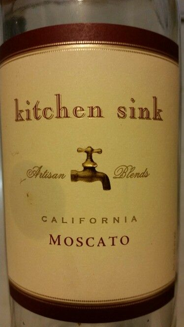 Kitchen Sink Moscato | Wines and wineries i love | Pinterest | Wine