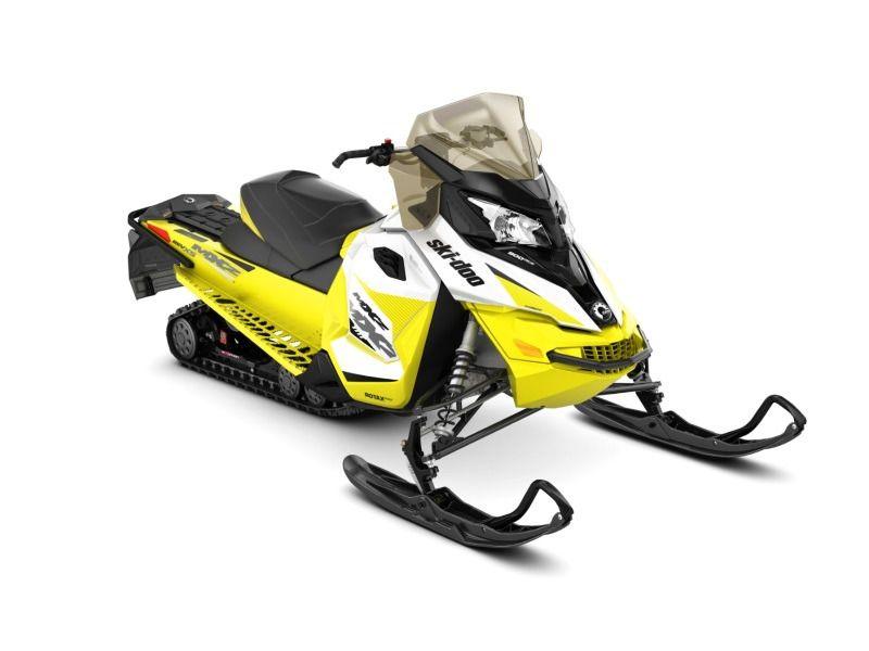 St Boni Motorsports >> 2018 Ski-Doo MXZ® TNT® Ripsaw 1.25 White/Sunburst Yellow ...