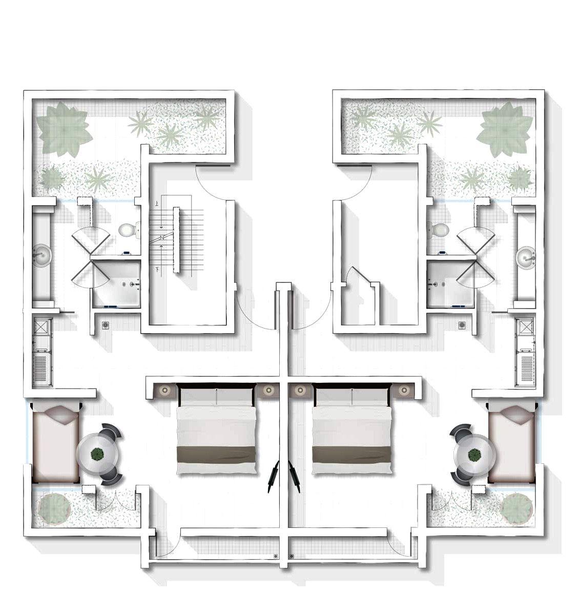 Alila Villa Anji Lake View Room 69 sq m / 743 sq.ft. | Plan/layout ...