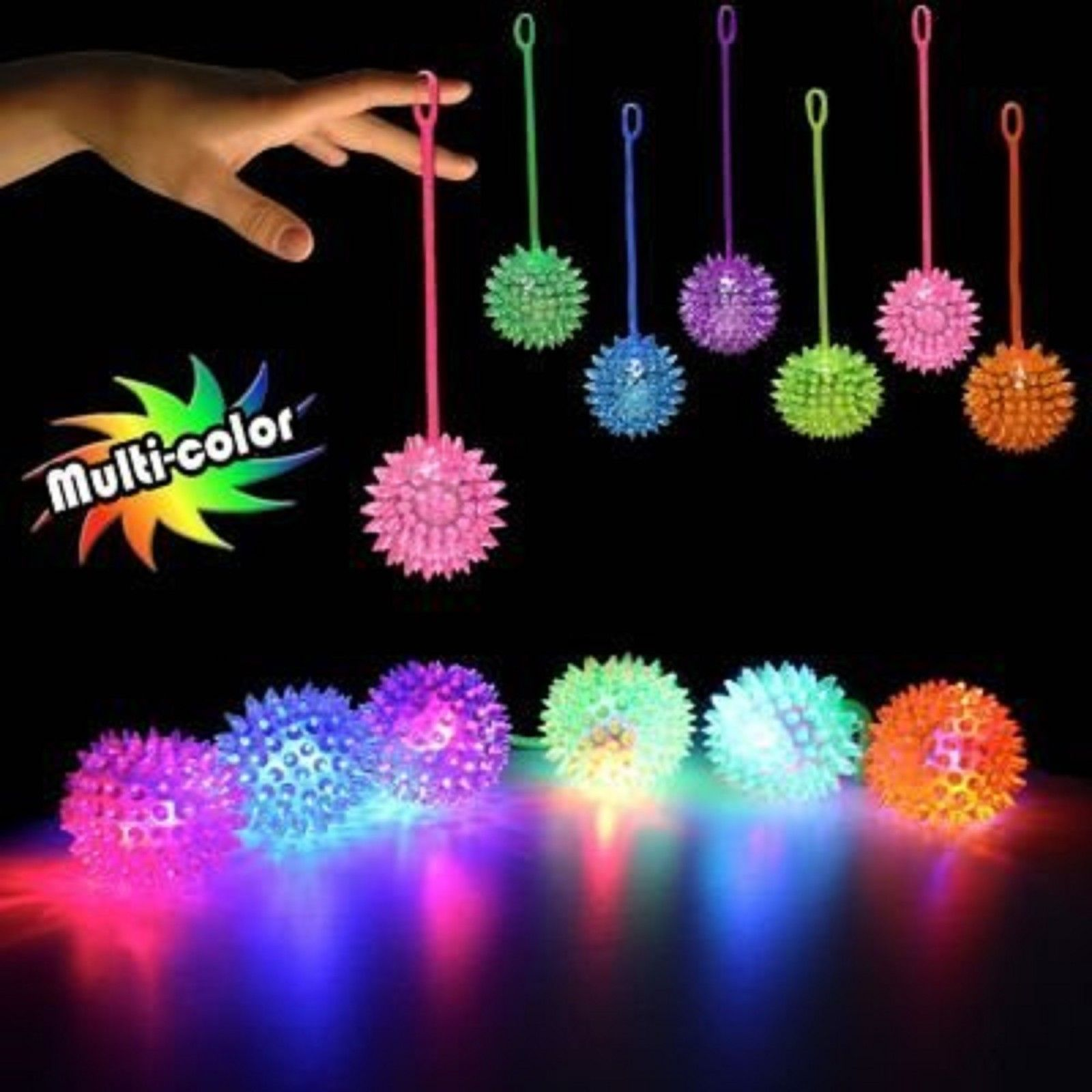 lighting ball v on golf asli co gradient up led light aetherair night flyer balls