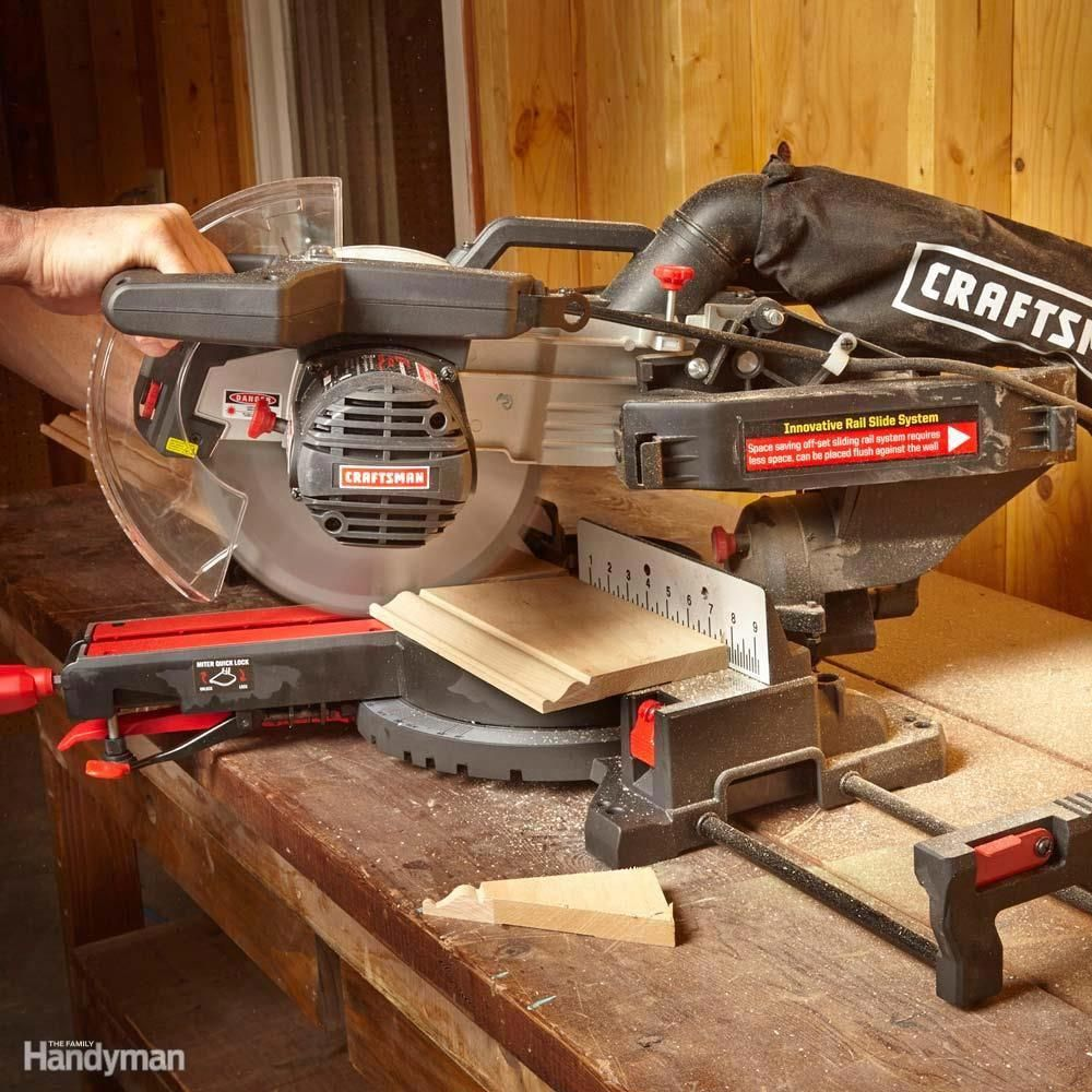 Craftsman Sliding Miter Saw Mitersaw Tools For Woodworking In