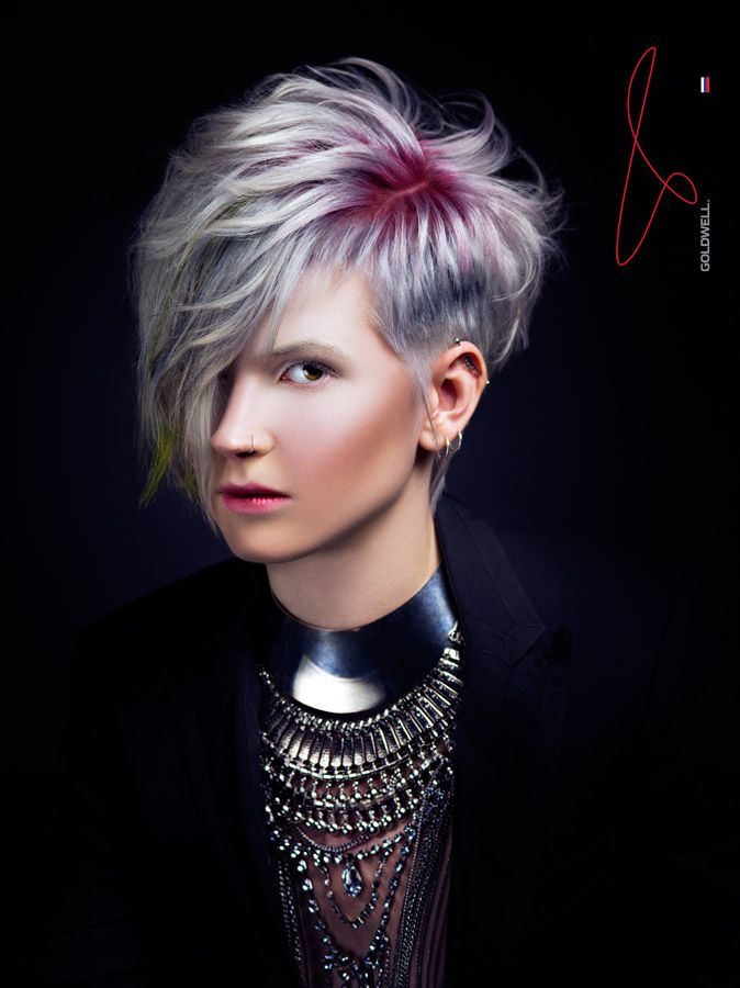 Image result for goldwell pixie cut