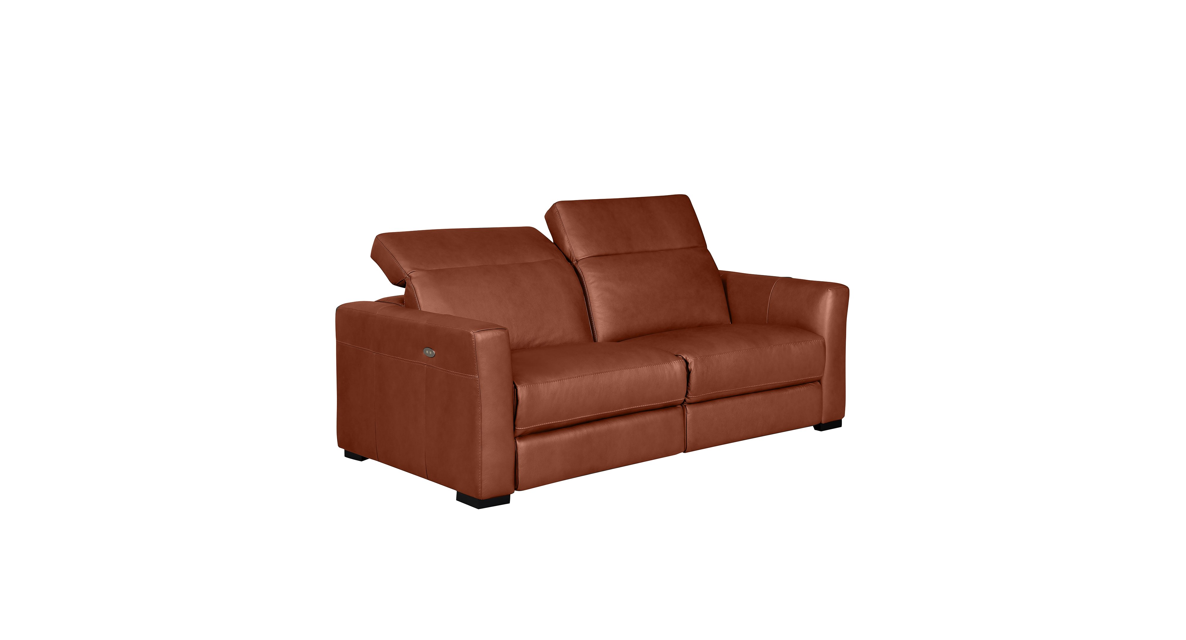 Nicolo Sofa with 2 Power Recliners | Leather sofa furniture