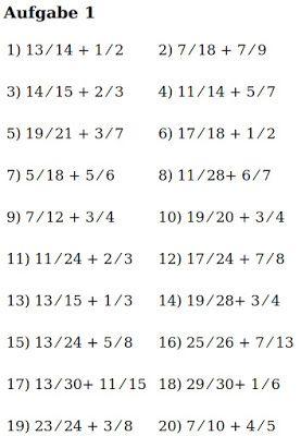 Grips Mathe 6 Bruch Geteilt Durch Ganze Zahl Grips Mathe