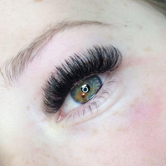 84b13a26162 Mega Volume lash extensions 😍😍 D Curl 9-12mm ✨ ig @lashesbyjazmine  #eyelashextensions #lashes #fluff #lashextensions #