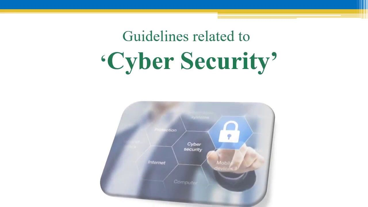 Cyber Security Protection Guidelines Cyber Phone
