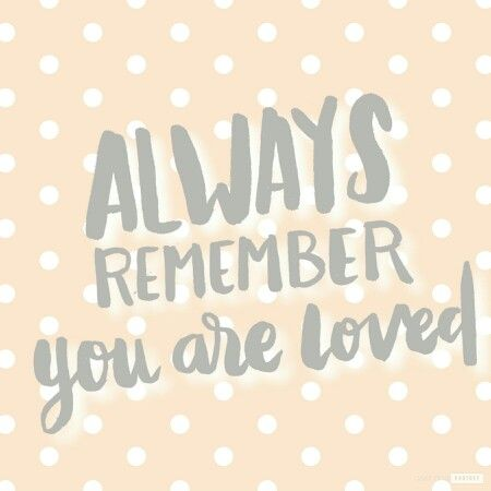 Always Remember You Are Loved Made With Photofy Quotes Life