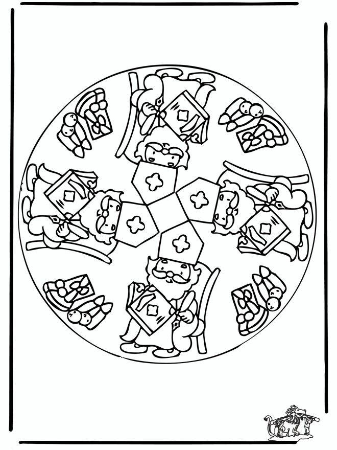 Sinterklaas mandala