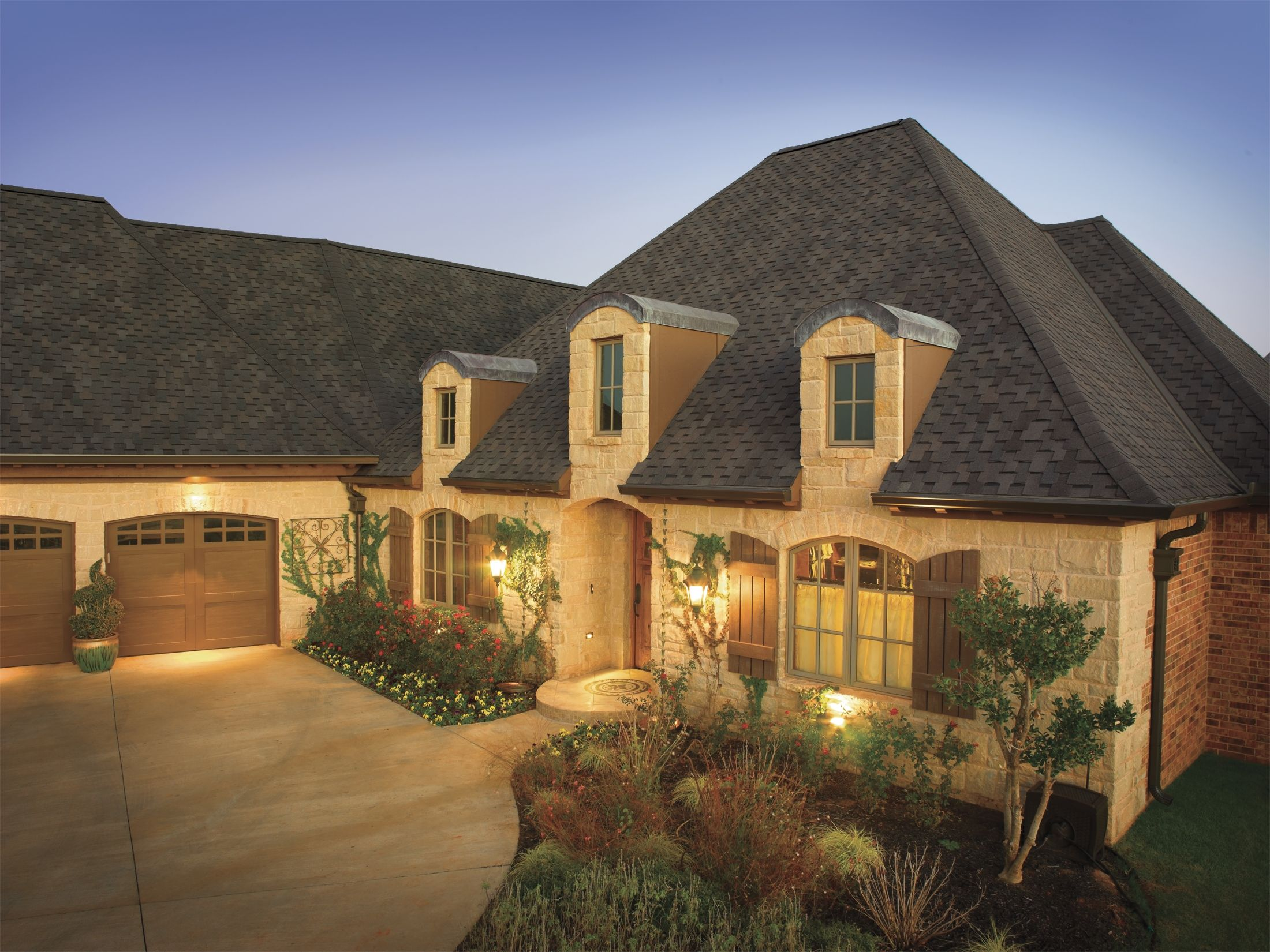 Tri State Windows Siding Roofing Gaf Grand Sequoia Ir Dusky Gray House Residential Roofing House Exterior Roofing