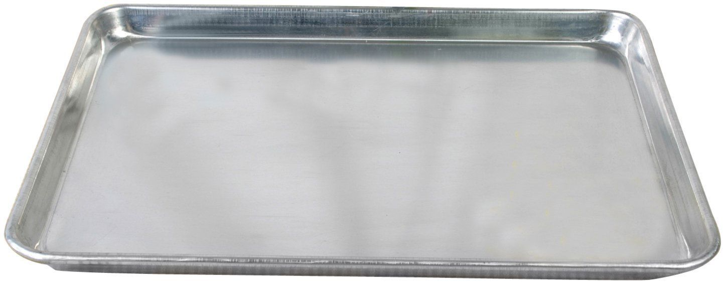 Excellante 18 inch x 13 inch half size alum sheet pan