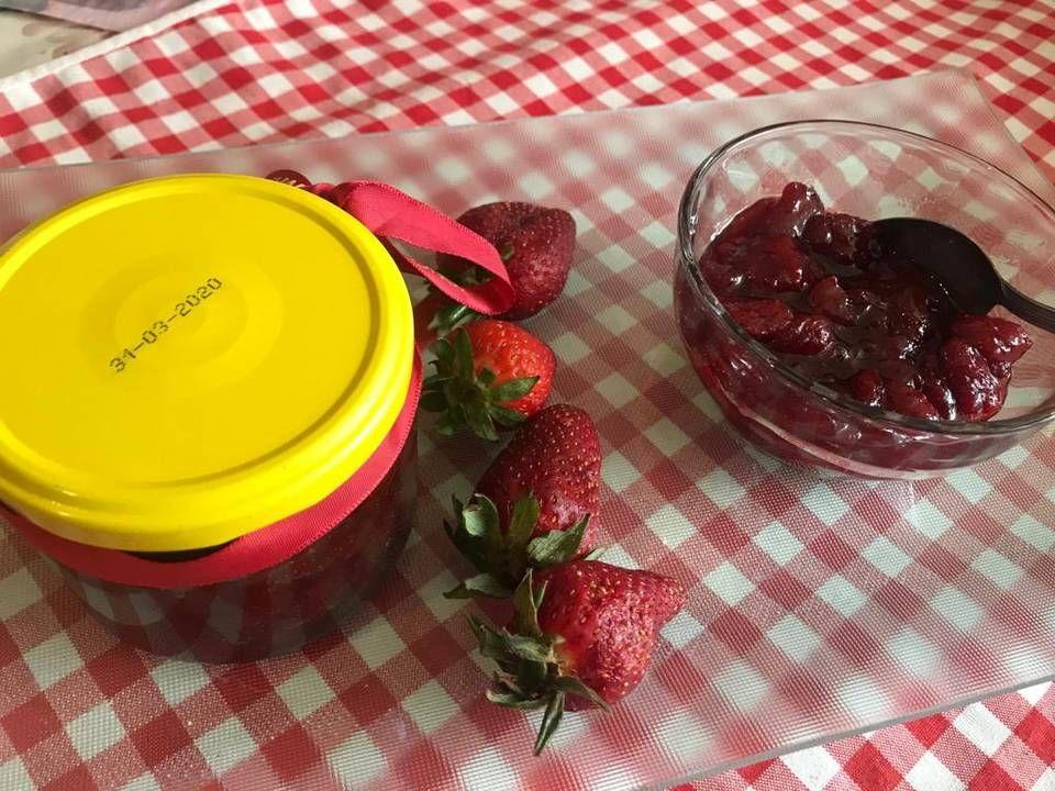 مربى فريز بالصور من Hiam Saleh Recipe Food Desserts Pudding