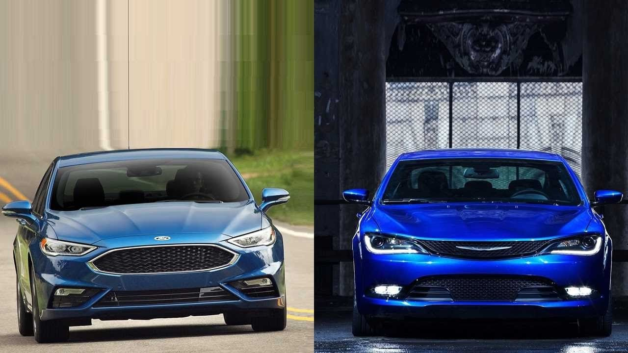 Ford Fusion V6 Sport Vs Chrysler 200 Http Youtube Com