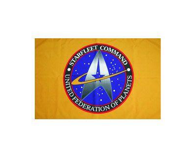 Bandera Star Trek. Federación Unida de Planetas, 90x150cm