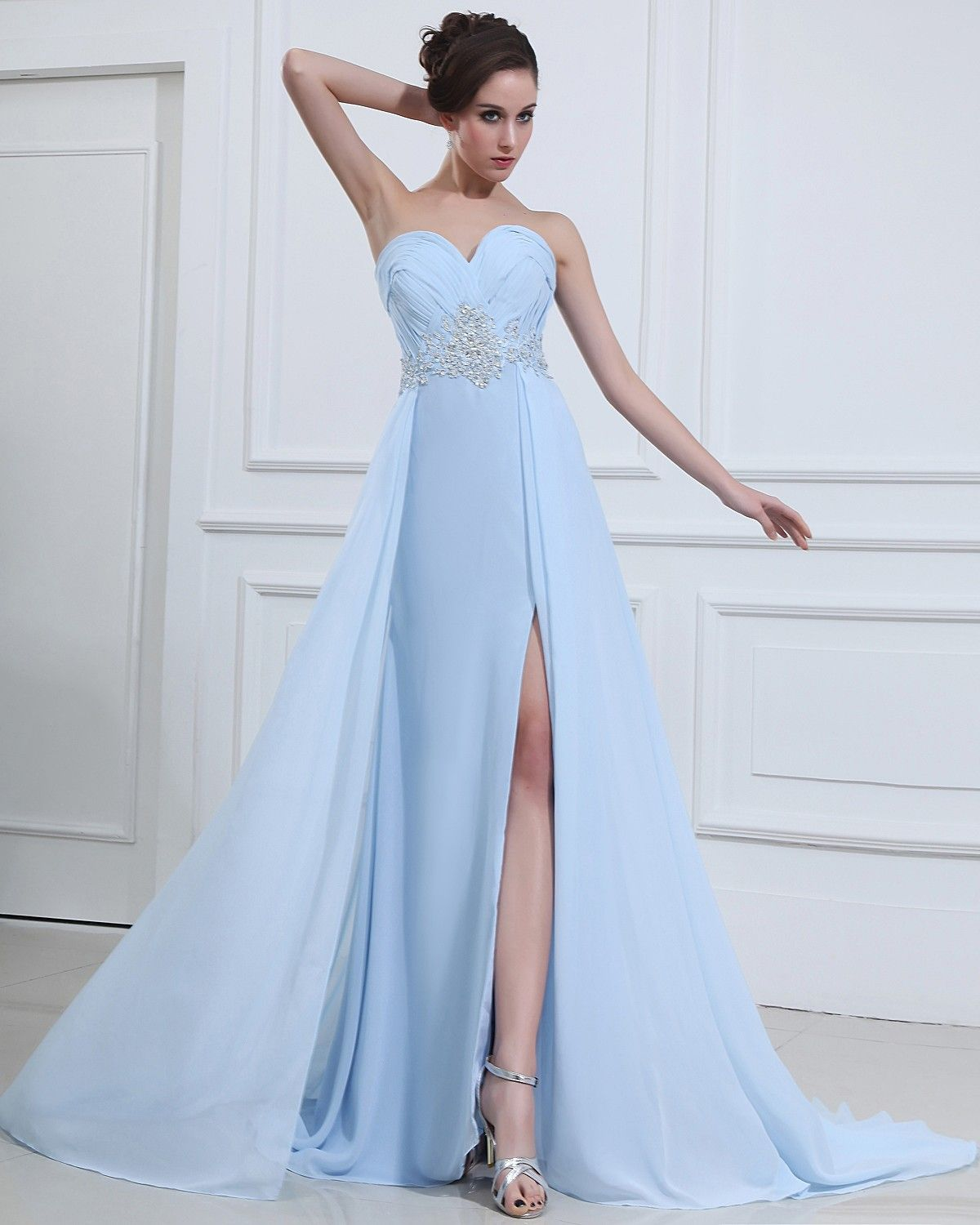 Light sky blue dress womenus fashion that i love pinterest