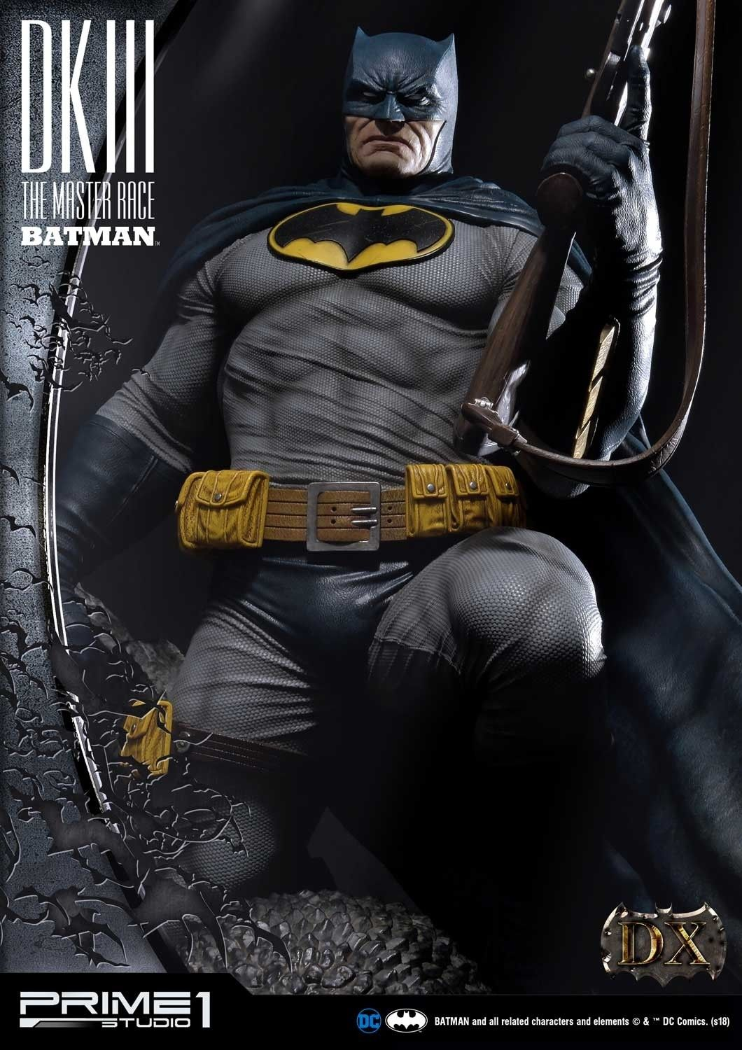The Dark Knight Iii The Master Race Batman Statue With Images