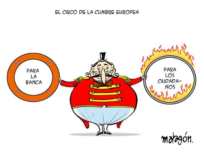 El circo de la cumbre europea