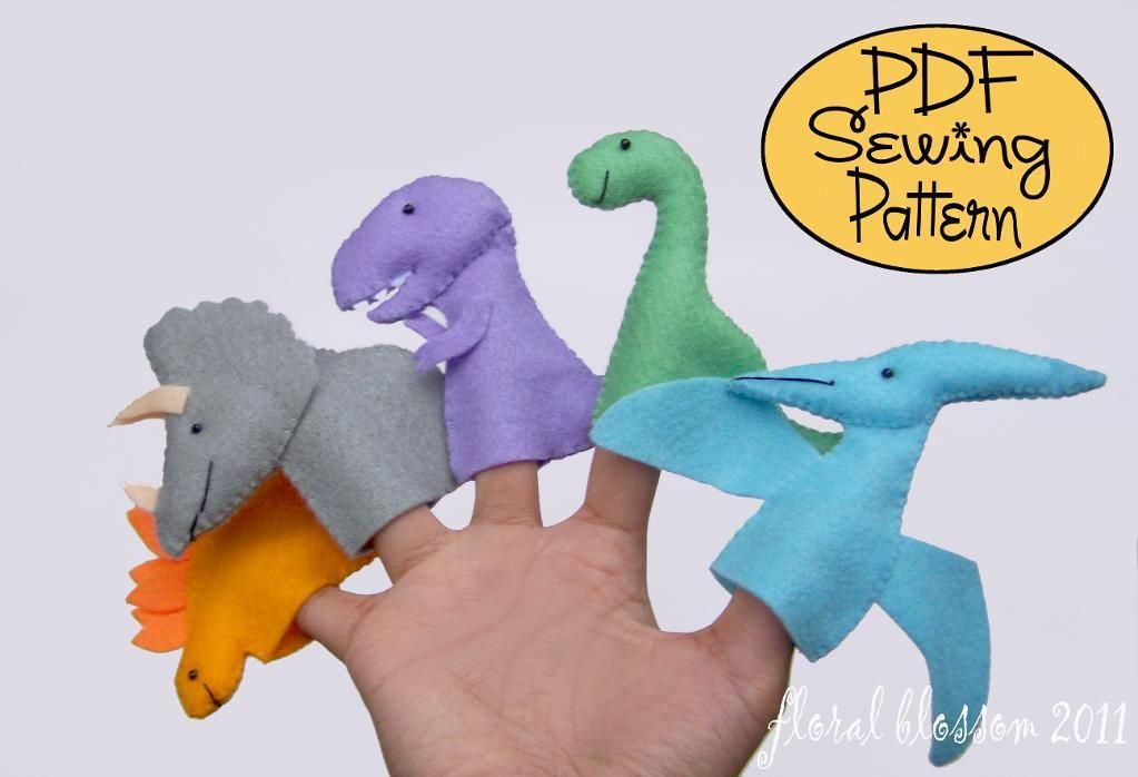 FloralBlossom's Pattern Store on Craftsy: So many cute finger puppet patterns!