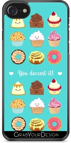 debf2541816 GrabYourDesign - Case for Iphone 7/7S You dessert it! - by AnishaCreations  Iphone
