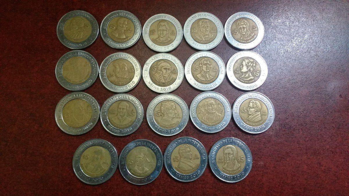 Coleccion De Monedas Mexicanas De 5 Pesos 37 Piezas Monedas Moneda Mexicana Coleccionar Monedas