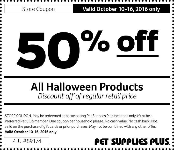 Get 50 Off 20161010rt89174 Pet Supplies Plus Pet Supplies Pets