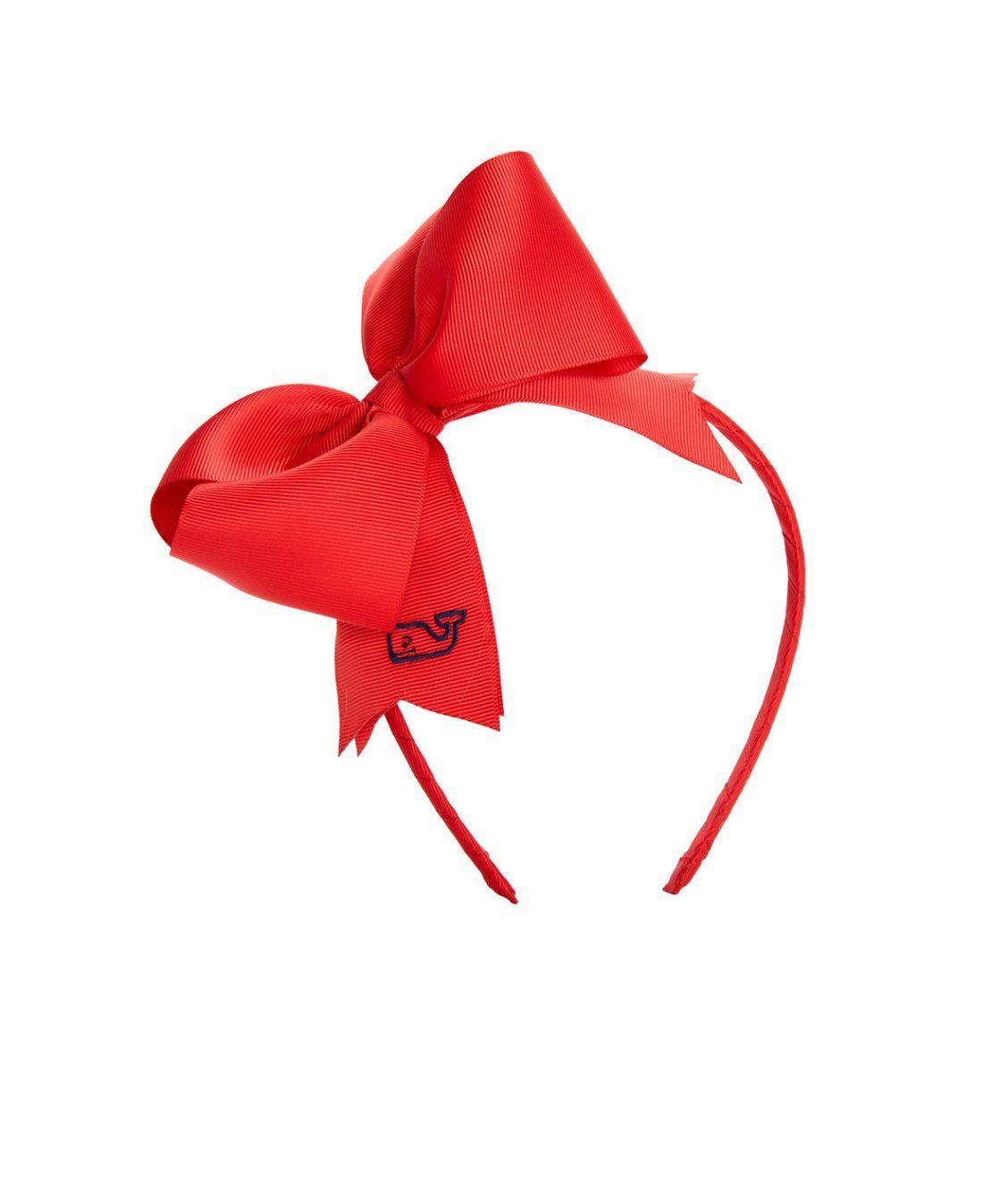 Girls Solid Grosgrain Bow Headband  e32a70193fd4