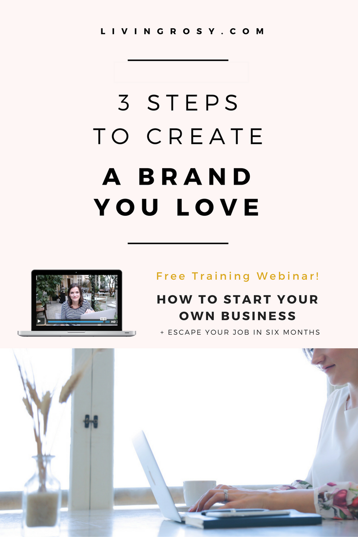 3 Steps to Create a Brand You Love   Entrepreneur ideas, Online ...