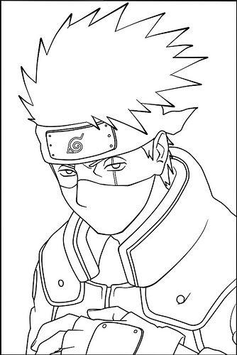 Pin by Anime Lover! on anime arts | Pinterest | Kakashi, Naruto and ...