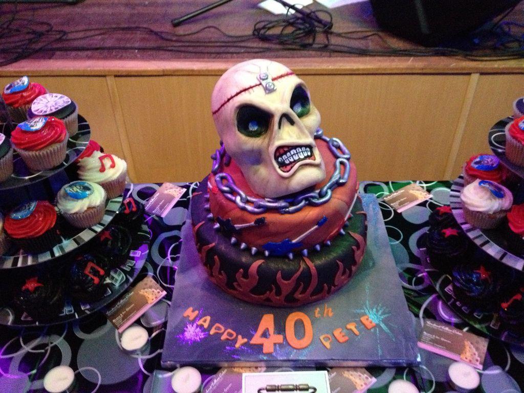 Iron Maiden Cake Ideas