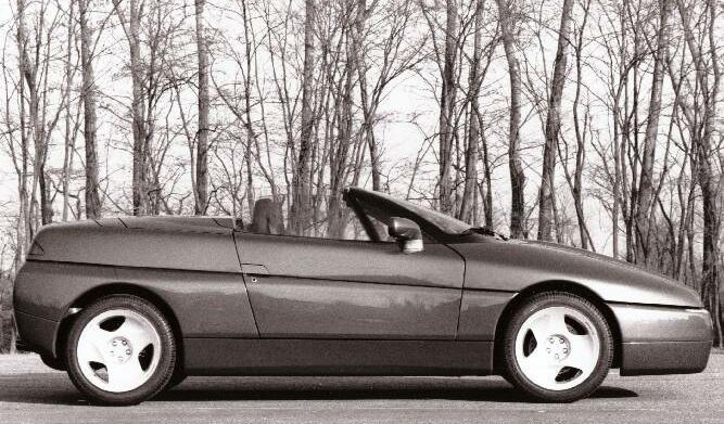 Alfa Romeo Proteo Concept Car 1991 The Basis For The Well Loved