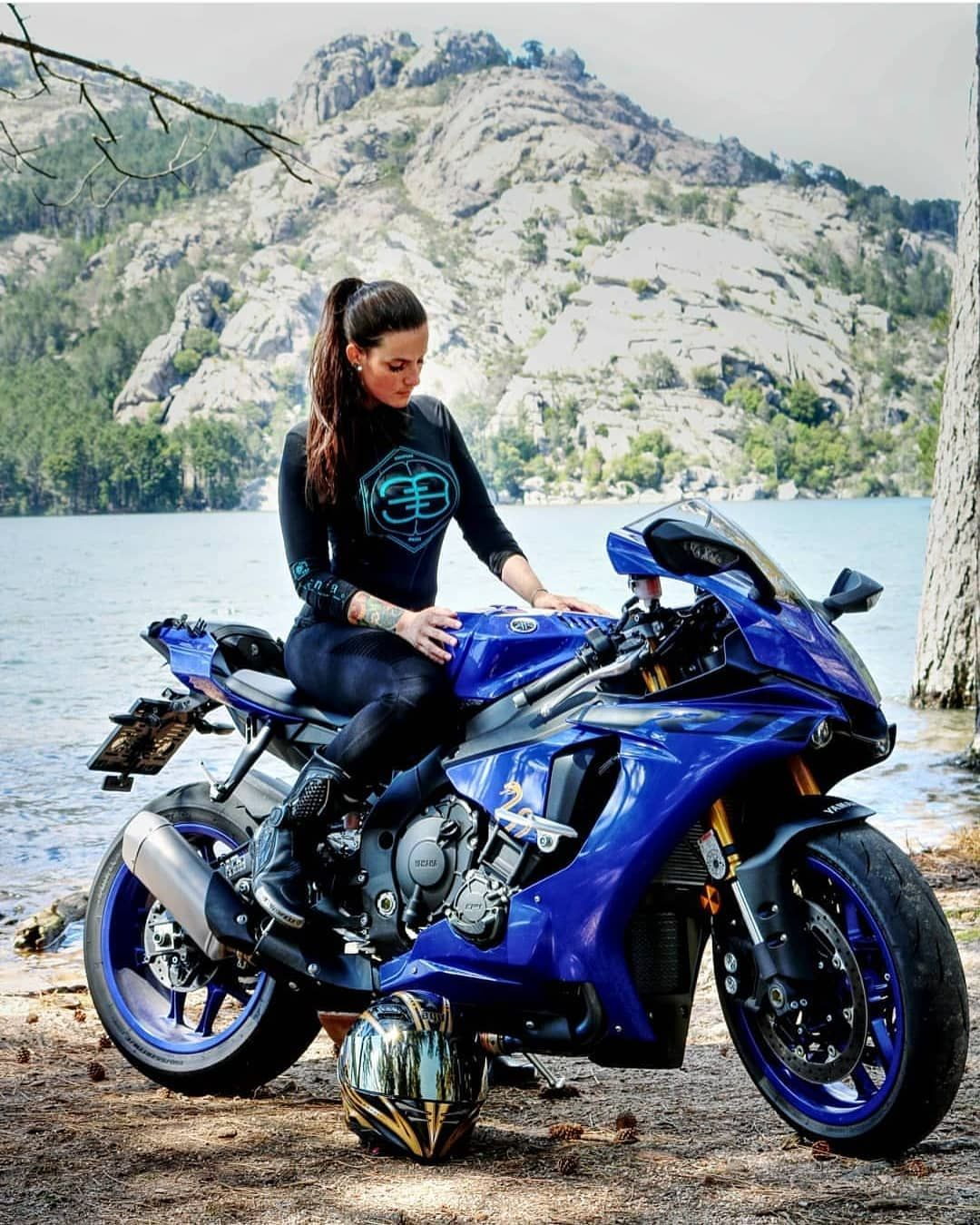 "Biker Chicks of Insta on Instagram: ""💨💥BossBikersLife.com💨 ➡➡@_._a_n_i_k_a_._ ⬅⬅❤ Link in bio💥  Tag or DM us for a feature!  Email us if your profile is private!  Check us out…"""
