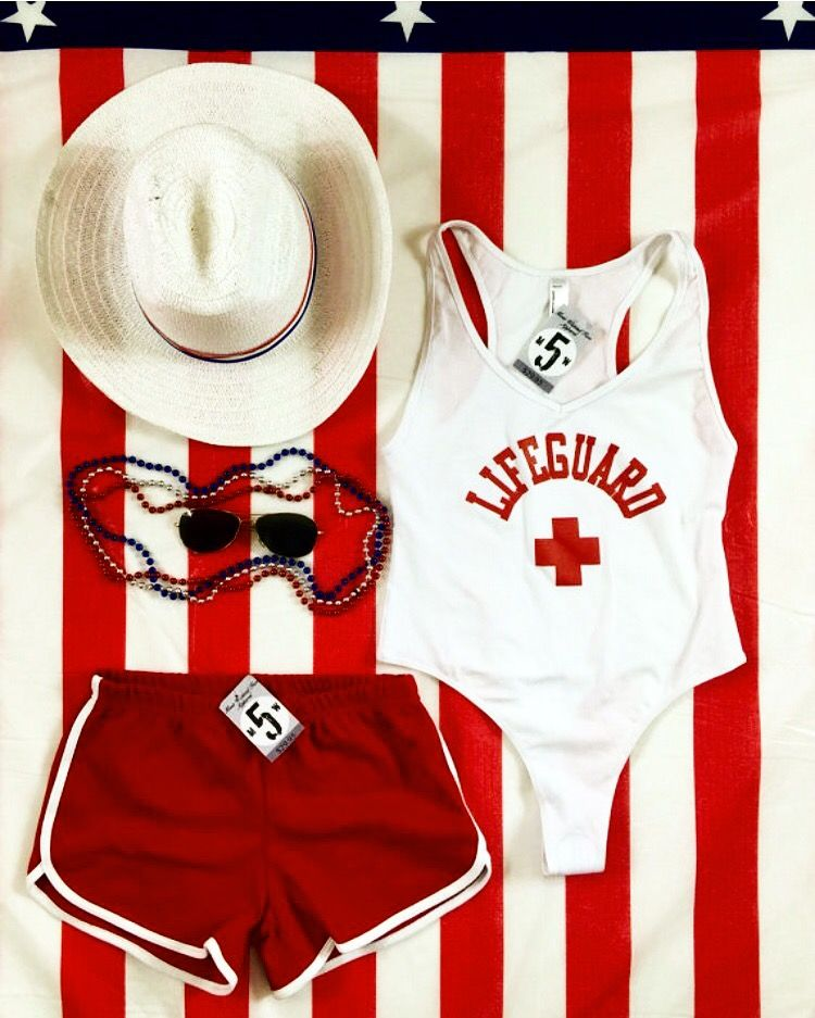 Lifeguard bodysuit by American Apparel available on shopify