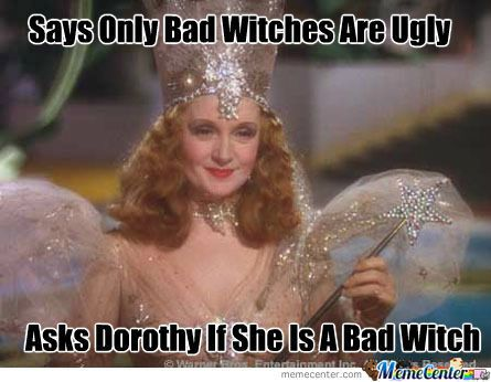40fcc0db7ee2c2611316c1611e24815b wow, glinda's kind of a witch! witches witch, please! pinterest