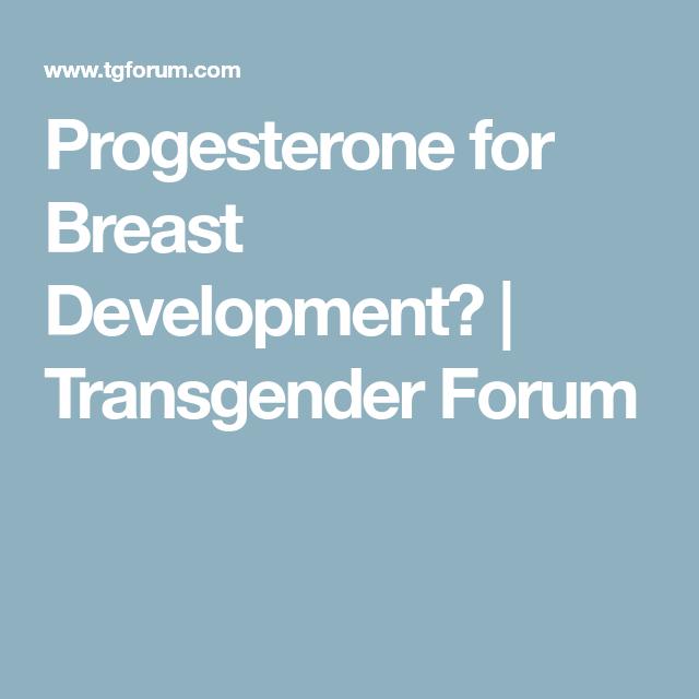 Brest development transsexual