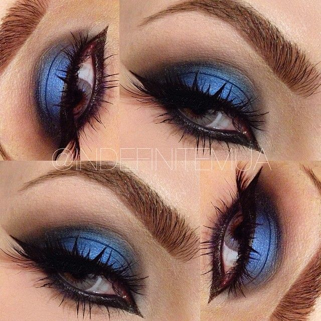 Smokey blue eye