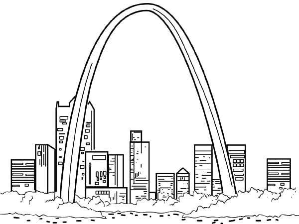 St Louis Cardinals Logo Coloring Pages | St louis ...