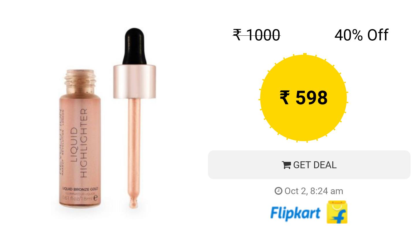 Makeup Revolution Liquid Highlighter Liquid Highlighter